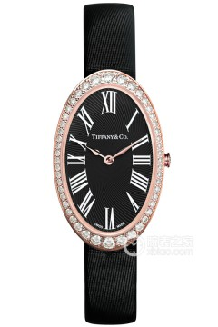 蒂芙尼Tiffany Cocktail Watch系列18k玫瑰金镶钻腕表