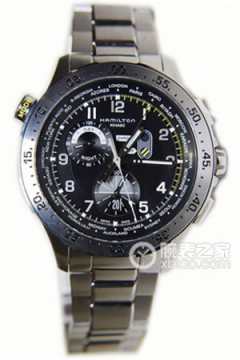 汉米尔顿Kahki Chrono Worldtimer