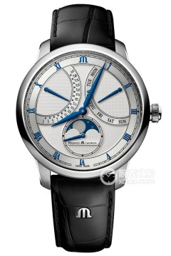 艾美  匠心  MASTERPIECE MOONPHASE RETROGRADE 43 MM  MASTERPIECE MOONPHASE RETROGRADE 43 MM  MP6608-SS001-110-1