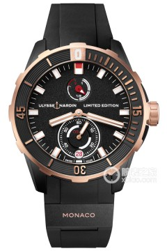 雅典表  潛水  CHRONOMETER  CHRONOMETER  1185-170LE-3/BLACK-MON