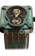 柏莱士INSTRUMENTS BR01 Skull Bronze Tourbillon