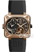柏莱士AVIATION系列BR MINUTEUR TOURBILLON PINK GOLD