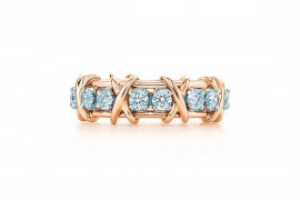 蒂芙尼TIFFANY& CO.SCHLUMBERGER Sixteen Stone 戒指
