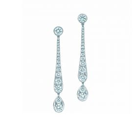 蒂芙尼TIFFANY COBBLESTONE Tiffany Jazz™耳坠耳饰