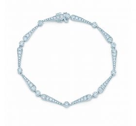 蒂芙尼TIFFANY COBBLESTONE Tiffany Jazz™手链手镯