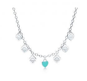蒂芙尼RETURN TO TIFFANY Multi-heart Tag项链