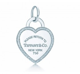 蒂芙尼RETURN TO TIFFANY Heart Tag 吊饰