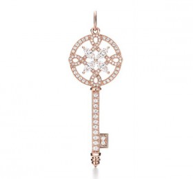 蒂芙尼TIFFANY KEYS Tiffany Keys 系列Tiffany Victoria™圆形 钥匙吊坠项链