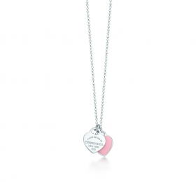蒂芙尼RETURN TO TIFFANY Double Heart Tag 吊坠
