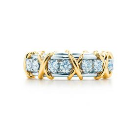 蒂芙尼TIFFANY& CO.SCHLUMBERGER Sixteen Stone 戒指戒指