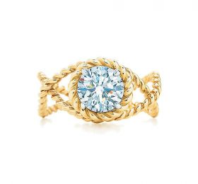 蒂芙尼JEAN SCHLUMBERGER Tiffany & Co. Schlumberger Rope 钻戒戒指