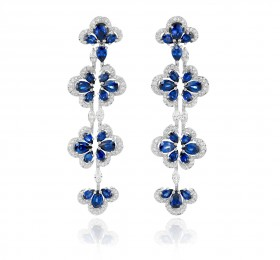 萧邦PRECIOUS CHOPARD UNIQUE CLIPS D'OREILLES 849971-1002耳饰