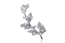 塔思琦BRIDAL COLLECTION TASAKI BRIDAL BELLE BOUQUET EC-3850-18KWG