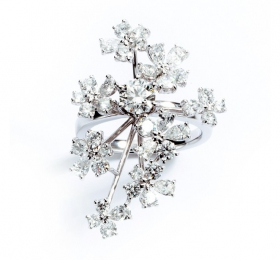 塔思琦BRIDAL COLLECTION TASAKI BRIDAL BELLE BOUQUET RD-F2536-PT950