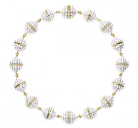 塔思琦 M/G TASAKI PYRAMID PEARLS PC-16568-18KYG