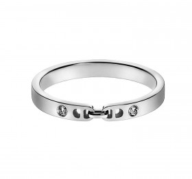 爱马仕EVER CHAINE D'ANCRE WEDDING BAND, SMALL MODEL H114608B 00046