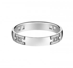 爱马仕HERAKLES WEDDING BAND H117694B 00046戒指