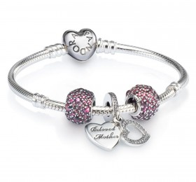潘多拉BELOVED MOTHER CHARM BRACELET SET套系