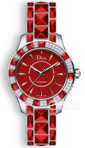 迪奧 DIOR CHRISTAL 38MM AUTOMATIC