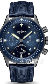 宝珀 BATHYSCAPHE CHRONOGRAPHE FLYBACK OCEAN COMMITMENT
