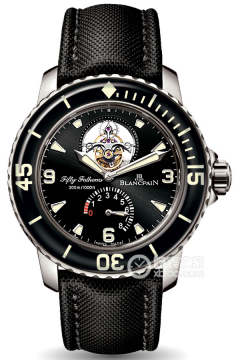 五十噚系列 FIFTY FATHOMS TOURBILLON 8 JOURS