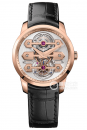 GP芝柏表TOURBILLON WITH THREE GOLD BRIDGES 40MM
