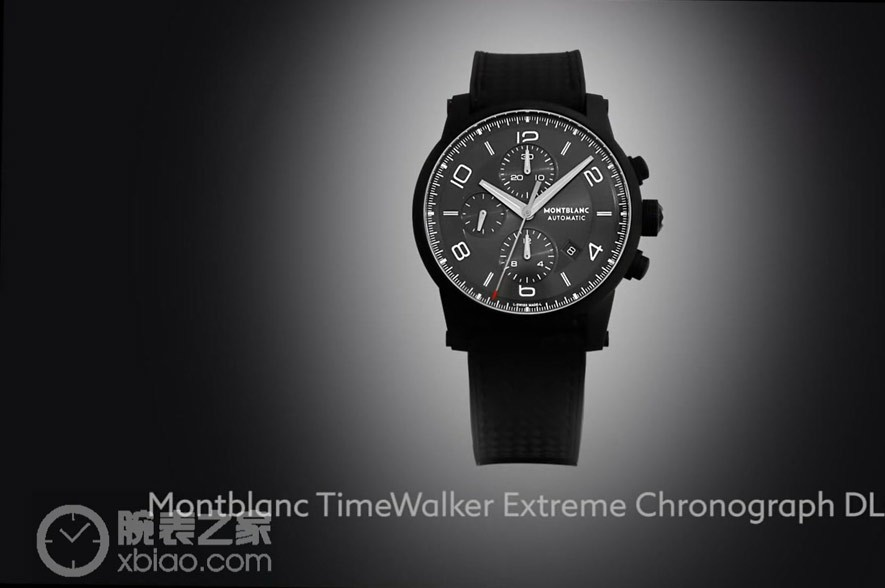 The TimeWalker Extreme Chronograph DLC