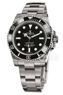 劳力士潜航者型系列114060-97200 黑盘